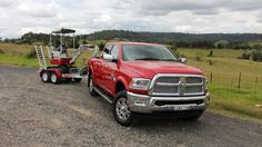 """""""If you need to tow a heavy load, nothing comes close to the ability offered by the new Ram 2500."""" #TruckTuesday http://www.drive.com.au/new-car-reviews/ram-2500-laramie-the-ultimate-tow-truck-20160311-gngfr1.html"""