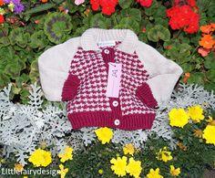 HANDMADE  Baby boy Jacket by Littlefairydesigns on Etsy