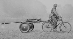 la Wehrmacht en bici.