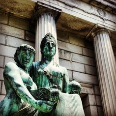 #mausoleum in #ElmwoodCemetery #beauty #statue #Egyptian #Norfolk #NorfolkVA #bikeride #latergram #757collective #veganinva
