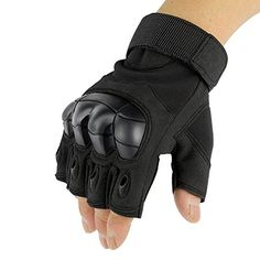1 Pair Sports Gloves ADiPROD Hard knuckle Half FingerFingerless Shooting Army Police Airsoft Gear Black Medium >>> Read more reviews of the product by visiting the link on the image.