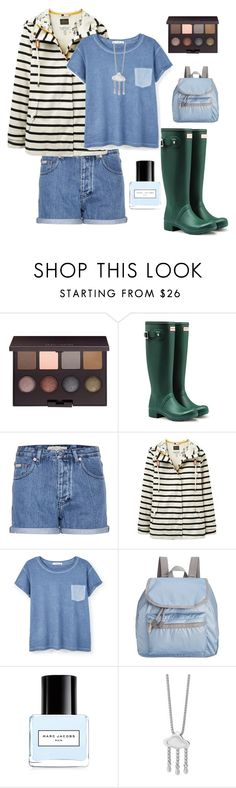 """""""Rain"""" by jilld727 ❤ liked on Polyvore featuring Laura Mercier, Hunter, Calvin Klein Jeans, Joules, MANGO, LeSportsac, Marc Jacobs and LucyQ Designs"""
