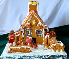 Full Gingerbread House Recipe (Gluten-Free, Free of Top Allergens + Vegan)