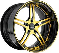 Yellow Custom Wheels, Tire Packages - CARiD.com