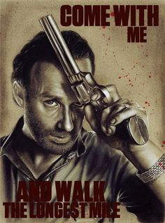Rick Grimes by ~MiseryCannotBeDead