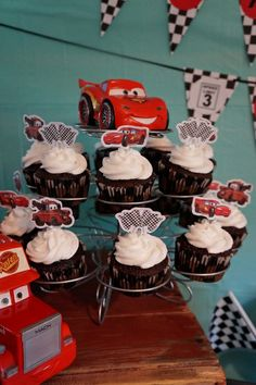 Disney Cars Birthday Party!  See more party ideas at CatchMyParty.com!