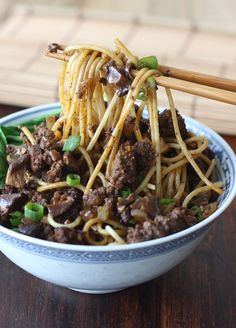 Taiwanese Minced Meat Noodles 台湾肉燥面 / MasterCook
