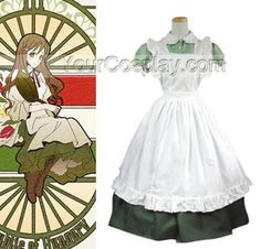 Hetalia: Axis Powers Little Italy Maid Halloween Cosplay Costume, Hetalia: Axis Powers Cosplay, Cosplay Costumes