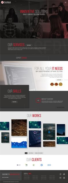 Providence Software Solutions - Website Redesign