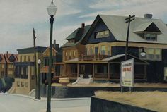 View East Wind Over Weehawken by Edward Hopper on artnet. Browse upcoming and past auction lots by Edward Hopper. Edward Hopper Obras, Edward Hopper Paintings, American Realism, American Artists, Edward Hooper, Toulouse, Tolouse Lautrec, Surreal Art, Pilgrim