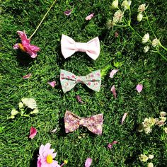 New @libertylondon print bowties coming soon!   #libertyprint #libertycotton -Thanks to @fi_c_fabricate! #libertygardenparty