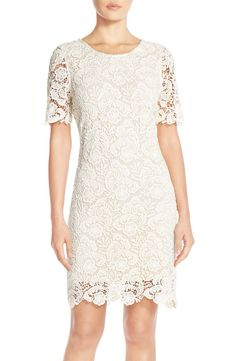 KUT from the Kloth KUT from the Kloth Lace Sheath Dress available at #Nordstrom