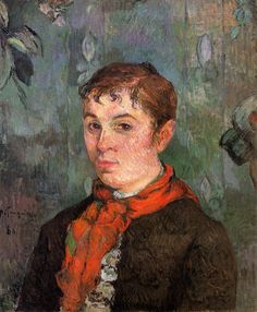 The boss's daughter by @paul_gauguin #postimpressionism