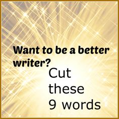 Want to be a better writer?