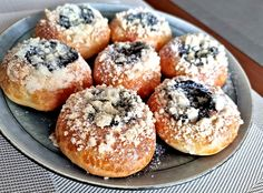 Czech Recipes, Bagel, Doughnut, Food And Drink, Nutella, Sweets, Bread, Dishes, Baking