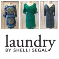 Laundry by Shelli Segal dresses are in!