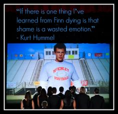 Best quote from GLEE's tribute to Cory Monteith
