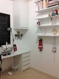 My new sewing room.