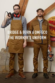 Bridge & Burn x OMFGCO The Worker's Uniform