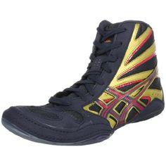 ASICS Mens Split Second 8 Wrestling Shoe,Navy/Gold/Red,6.5 M US ASICS, http://www.amazon.com/dp/B0031Y6X3K/ref=cm_sw_r_pi_dp_Qn4rrb18MKY3G