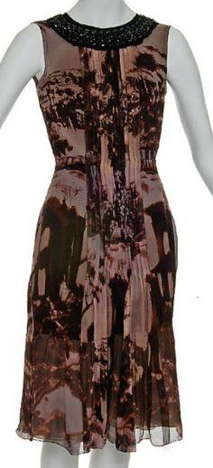 Prada beaded temple dress, F/W 2004