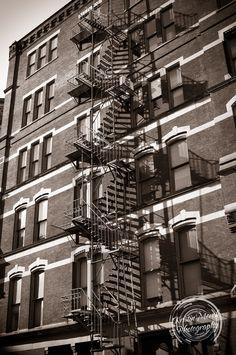 Cool fire escape - Kristin Merck Photography