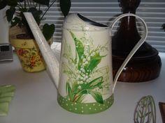 Знакомство http://dcpg.ru/blogs/4625/ Click on photo to see more! Нажмите на фото чтобы увидеть больше! decoupage art craft handmade home decor DIY do it yourself watering can