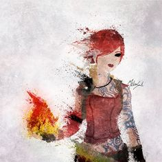 Borderlands - Lilith by BOMBATTACK.deviantart.com on @deviantART