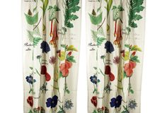Botanical Curtain Panels, Pair on One Kings Lane today