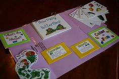 The Very Hungry Caterpillar Lapbook