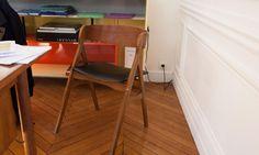 Chaise Bois Bureau Alexandra Golovanoff
