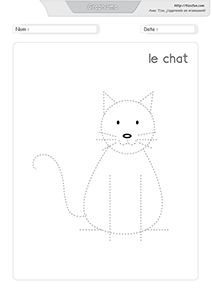graphisme-dessiner-le-chat Splat Le Chat, Toddler Activities, Homeschool, Writing, Education, Minimum, Fictional Characters, Activities, Drawing Practice