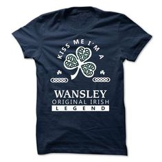 awesome Must buy T-shirt Keep Calm and let Wansley handle it