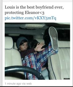 omfg theres more pics of them in the car . thats louis and harry