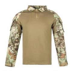 Men Combat Shirt Tactical Special Forces Camouflage Clothing Outdoor Training Military Uniform Adult Army Tops S Camouflage Clothing, Combat Shirt, Special Forces, Hoodies, Sweatshirts, Top Colour, Army, Military, Long Sleeve