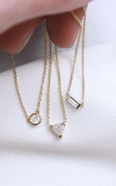 Diamond Shapes at Vrai & Oro:  Solid gold & high grade diamonds, without the retail markups. | www.vraiandoro.com