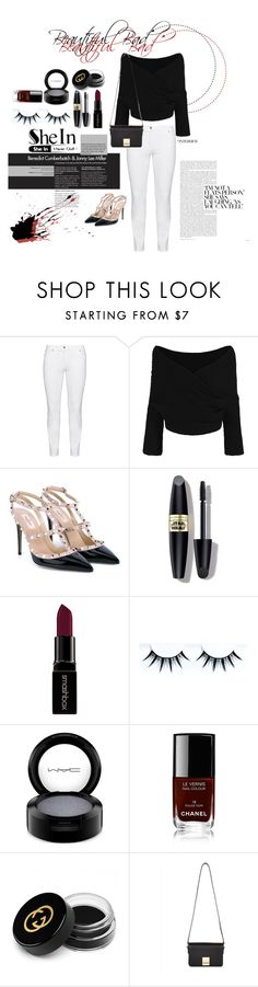 """Untitled #31"" by nadyapradip on Polyvore featuring Steilmann, Valentino, Max Factor, Smashbox, MAC Cosmetics, Chanel, Gucci, Jaeger, women's clothing and women's fashion"