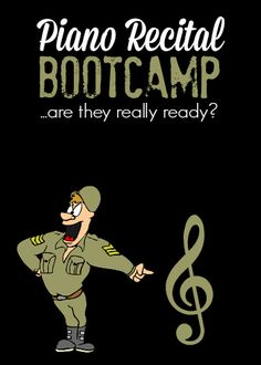 Piano Recital Bootcamp