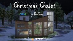 Ihelen Sims: Christmas Chalet by Dolkin • Sims 4 Downloads