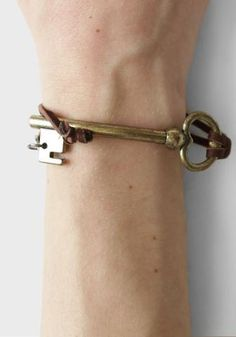 Locked Key Bracelet By Gypsy Junkies