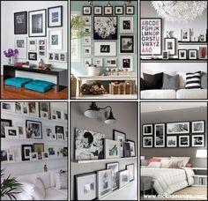 quadros na parede - decor - decoration - frames - nick na europa
