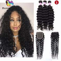Independent Alipearl Hair Brazilian Deep Wave Lace Closure 4x4 Inch Free Part Closure With Baby Hair Remy Human Hair Color 1b Free Shipping Hair Extensions & Wigs Closures