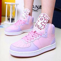 Like: Colour combinations, unicorn, comfy Emo Shoes, Sock Shoes, Cute Shoes, Horse Shoes, Peppa Pig Shoes, Peppa Pig Outfit, Galaxy Outfit, High Top Sneakers, Kawaii Shoes
