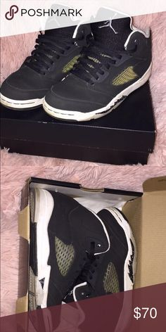 4d8d9f20ba92f5 Retro Jordan Oreos 5 size 3y Condition 9 10 . Used twice. Sticker included