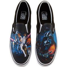 Vans Classic Slip-On™ X Star Wars® = want!