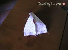 galline triangolari di stoffa - Cerca con Google