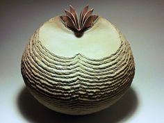 Pit fired Pottery Vessel by IsidroOlguinJr on Etsy, $55.00