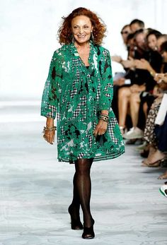 Diane Von Furstenberg, Fashion designer  'I love the word feminism, it's beautiful. It means strength but it doesn't mean you can't be feminine.'