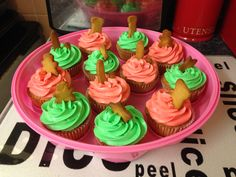 Cupcakes with gingerbread!