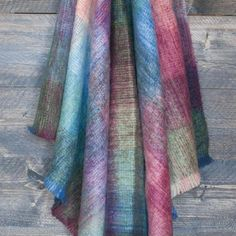 Kaleidoscope Mohair Throw - Mohair Throws and Knee Rugs - Sofa Throws - LIVING